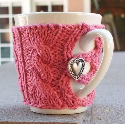 Free Knitting Patterns Cup Cozy Photos